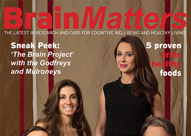 BRAIN MATTERS MAGAZINE Brain Matters – Winter 2015/2016